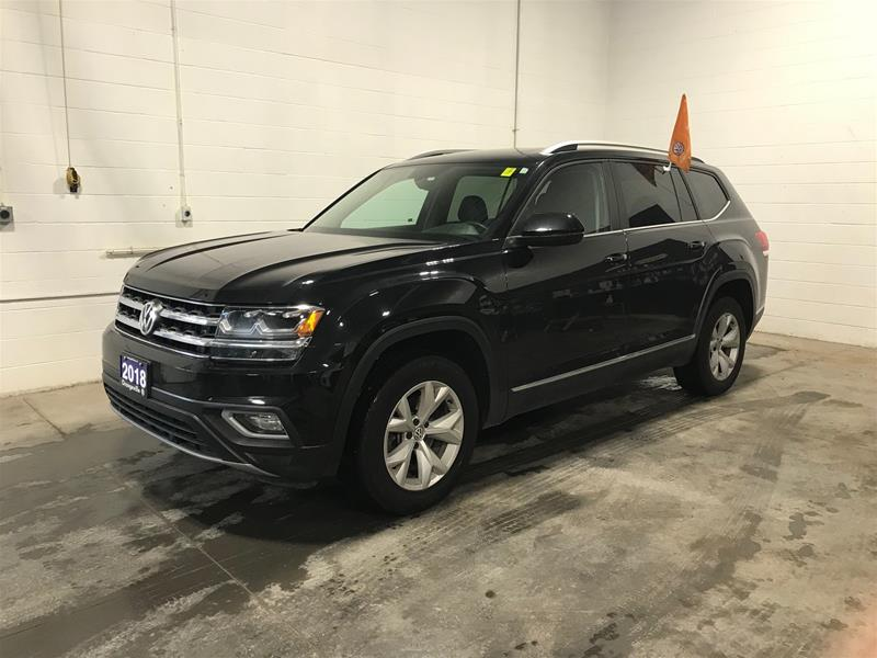 Certified Pre-Owned 2018 Volkswagen Atlas