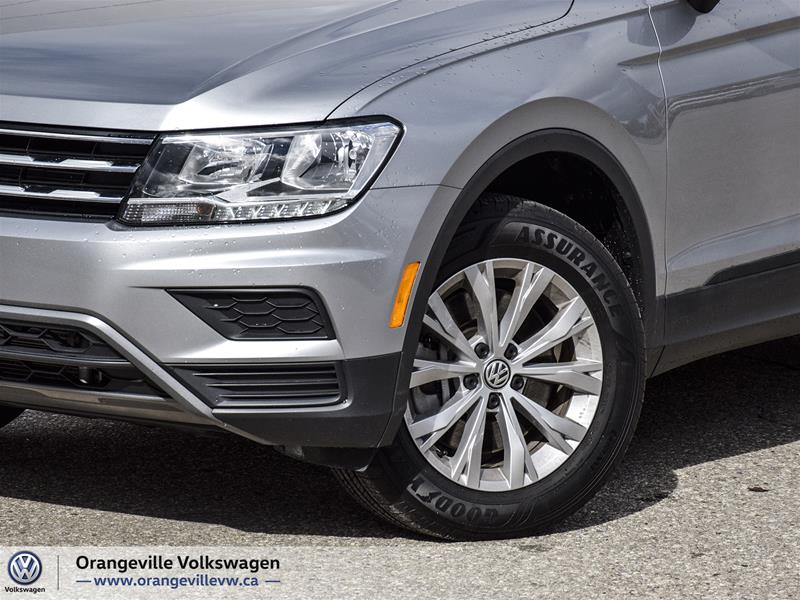 Certified Pre-Owned 2020 Volkswagen Tiguan Trendline 2.0 8sp at w/Tip 4M