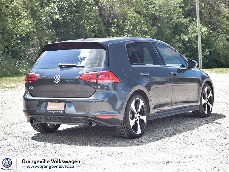 Certified Pre-Owned 2017 Volkswagen Golf GTI 5-Dr 2.0T Autobahn 6sp DSG at w/Tip