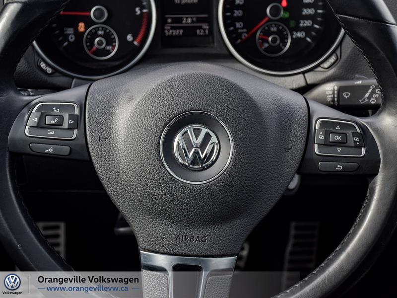 Certified Pre-Owned 2014 Volkswagen Golf Wagon Wolfsburg Edition 2.0 TDI 6sp DSG at w/ Tip