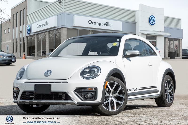 Certified Pre-Owned 2018 Volkswagen The Beetle Dune Coupe 2.0T 6sp at w/Tip
