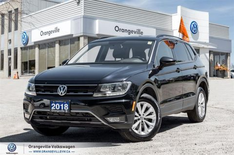 Certified Pre-Owned 2018 Volkswagen Tiguan Trendline 2.0 8sp at w/Tip 4M