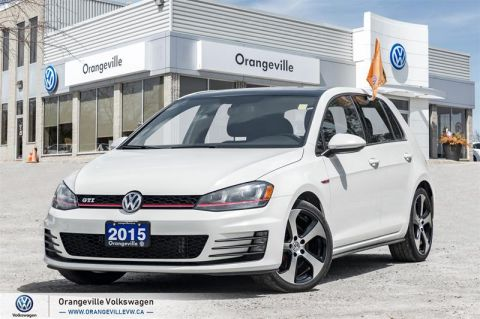 Certified Pre-Owned 2015 Volkswagen Golf GTI 5-Dr 2.0T Autobahn at DSG Tip