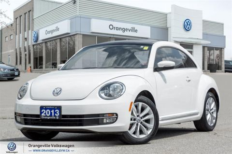 Certified Pre-Owned 2013 Volkswagen The Beetle Highline TDI 6sp at w/ Tip