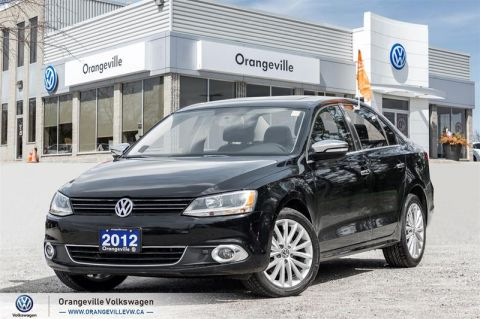 Certified Pre-Owned 2012 Volkswagen Jetta Highline 2.0 TDI 6sp DSG at Tip