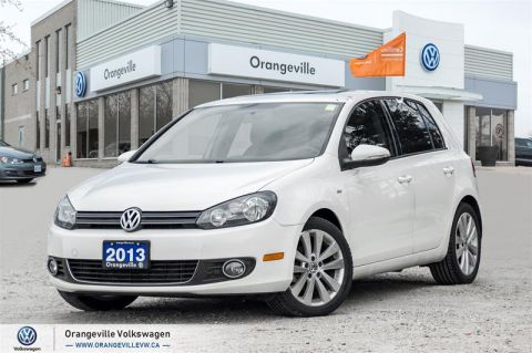 Certified Pre-Owned 2013 Volkswagen Golf 5-Dr Wolfsburg Edition 2.0 TDI DSG at w/ Tip